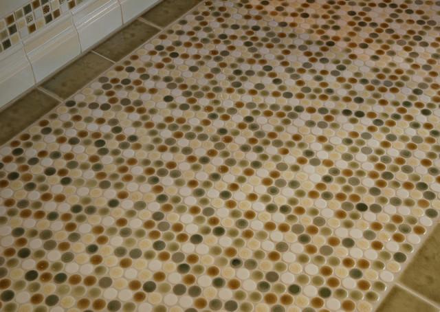 Mosaic Circle Blend contemporary