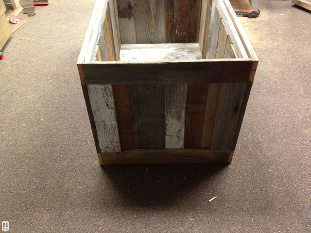 Patchwork Coffee Table/Chest rustic-accent-chests-and-cabinets
