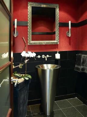 Merrick Kitchen & Bath, Ltd. contemporary-bathroom