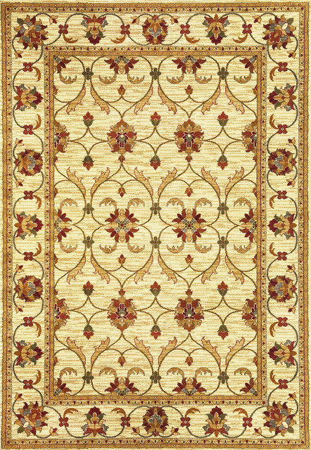 Domani Connections Vintage Ivory (1'11 x 2'11) contemporary