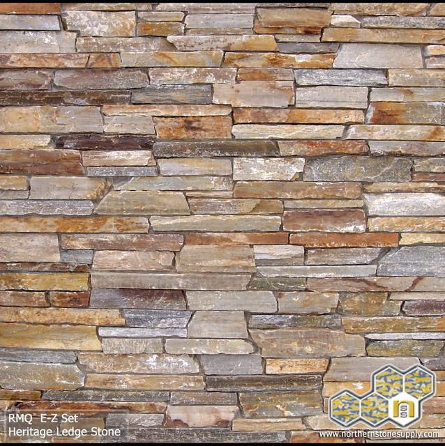 Home Exteriorstone Design Ideas: Honey Heritage Ledge Stone