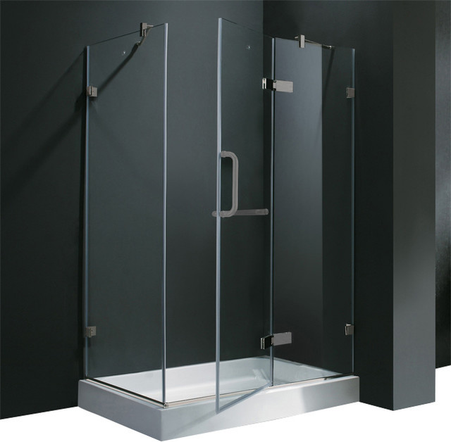 VIGO VG6011BNCL40WL Shower Enclosure traditional-windows-and-doors