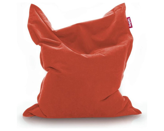 Fatboy - Fatboy The Original, Orange - If you're going to be comfortable, why not go all the way with me? I'm made of new pillowy soft stonewashed fabric and signature Fatboy filling. Your couch might start to feel a little neglected.                                                                                                                                               - Fun and multi-functional lounge bean bag from Fatboy; for reading, watching TV, cuddling, and relaxing. Your couch might start to feel a little neglected!                                                                                                                                                                                                                              - Soft and durable outer fabric made from 100% stonewashed cotton.                                                                                                                                                                                                                                                                                                                                                                                                                - Filled with virgin polystyrene beads.                                                                                                                                                                                                                                                                                                                                                                                                                                                                               - Available in wide array of vibrant colors; cover is machine washable at 86- F.                                                                                                                                                                                                     