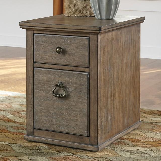 Ashley Furniture Tanshire File Cabinet Multicolor - H688-12 - Contemporary - Filing Cabinets