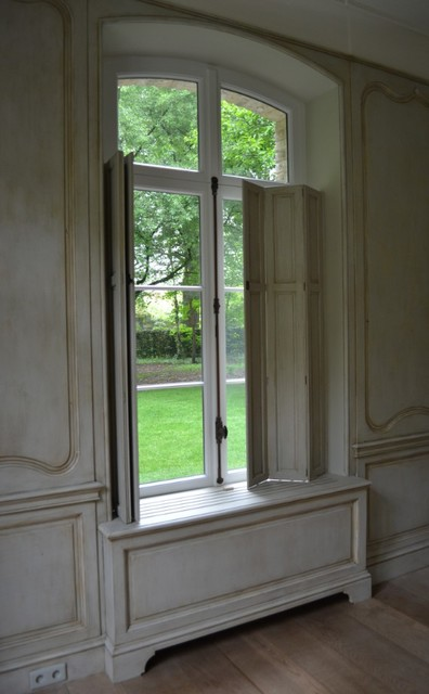 French 18th century styled paneling traditional other for 18th century window treatments