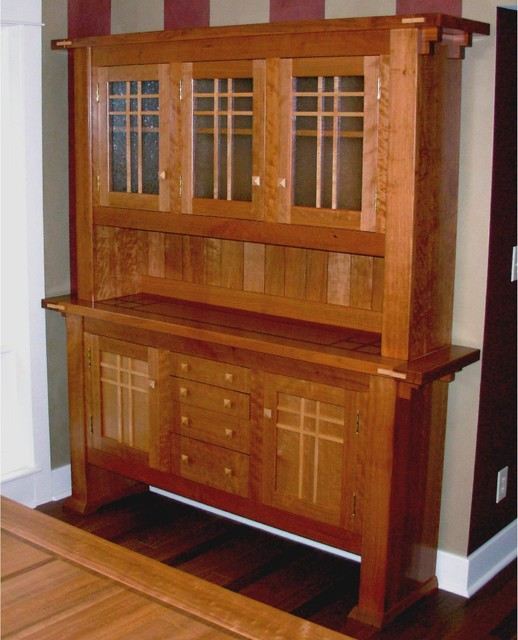 Dining Room Hutch Craftsman China Cabinets And Hutches