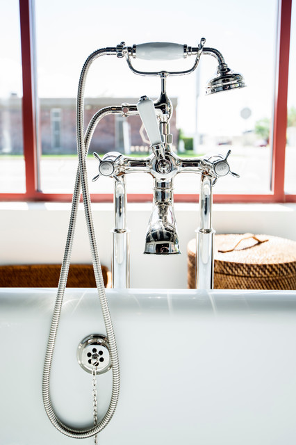 Waterworks products at Salt Lake City Showroom traditional-bathroom-faucets