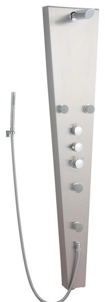 Apex Shower Panel System contemporary-showers