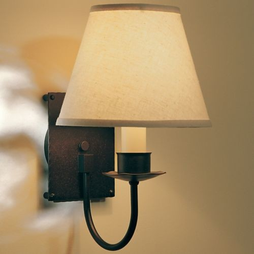 Single Light Wall Sconce With Shade by Hubbardton Forge - Modern - Wall Lighting - by Lumens