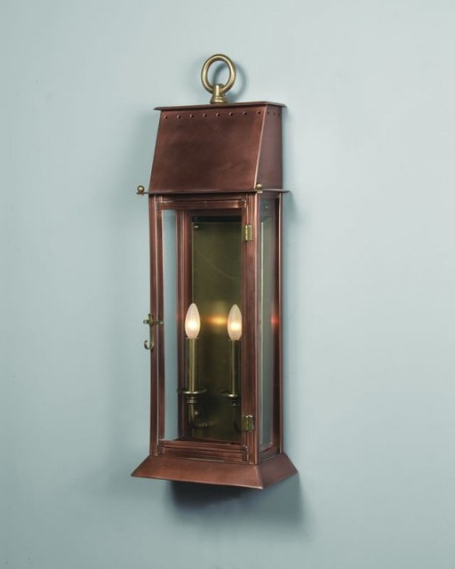 French Quarter Period Wall Lantern - Traditional - Outdoor Wall Lights And Sconces ...