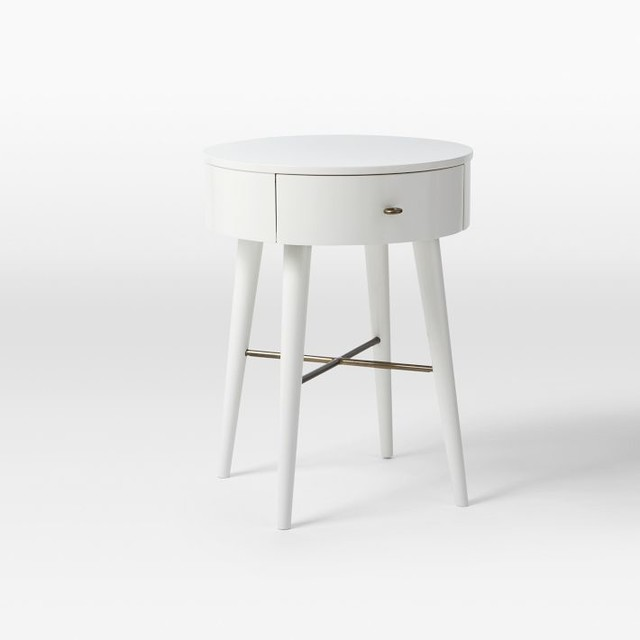 penelope nightstand white small contemporary