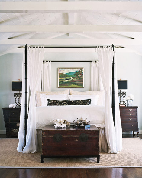 House with Comfort and Elegance - Traditional Home® eclectic-bedroom