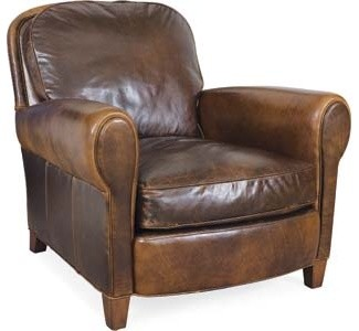 Leather Chair Traditional Armchairs And Accent Chairs
