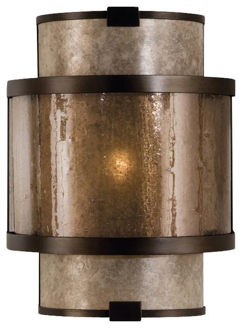 Singapore Moderne Bronze Sconce, 590550ST contemporary-wall-sconces