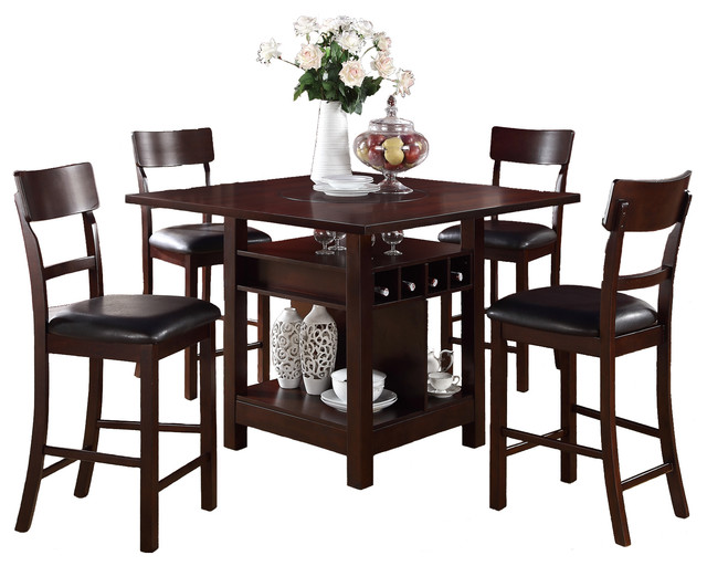 Counter Height Kitchen Table Sets With Storage : All Products / Kitchen / Kitchen & Dining Furniture / Dining Sets