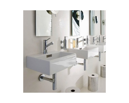 Linea Sink by WS Bath Collections Model Quarelo 53708 -