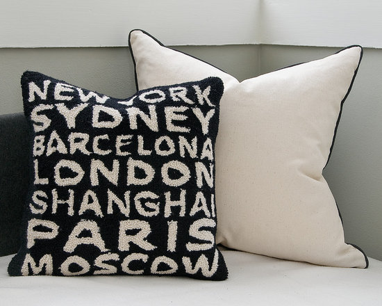 World Traveler Pillow - This is a Sample Sale Item. Gently used but still in good condition!