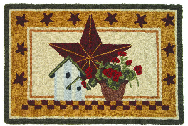 Country Star Rug farmhouse-rugs