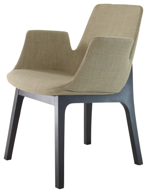 bern arm chair cappuccino contemporary dining chairs