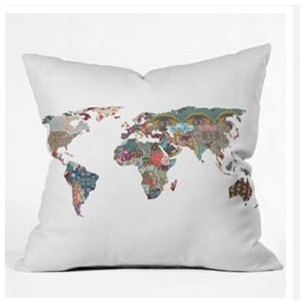 Bianca Green Louis Armstrong Told Us So Throw Pillow modern-bed-pillows-and-pillowcases