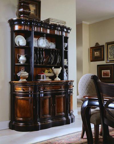 Hooker Furniture Preston Ridge Shaped Buffet 864 75 900