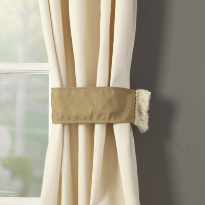 Outdoor Curtain Tiebacks - traditional - outdoor decor - by
