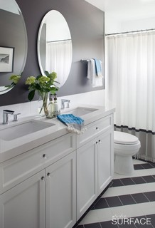 Del mar modern mediterranean modern bathroom san for Bathroom design montreal