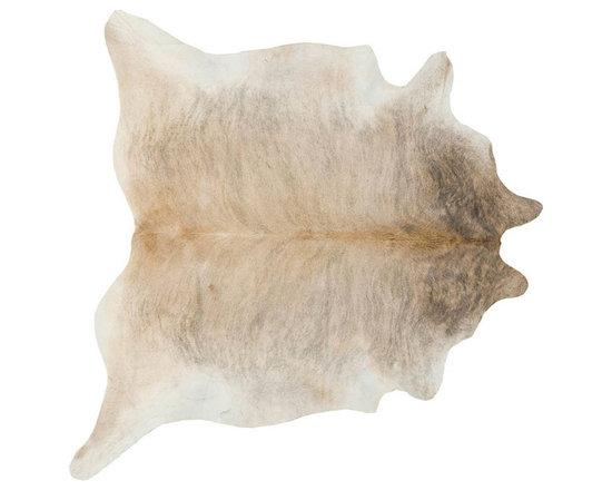 #N/A - Cow Hide Rug in Light Brindle Medium - Cow Hide Rug in Light Brindle Medium. Hair on Hide Rug Natural Form