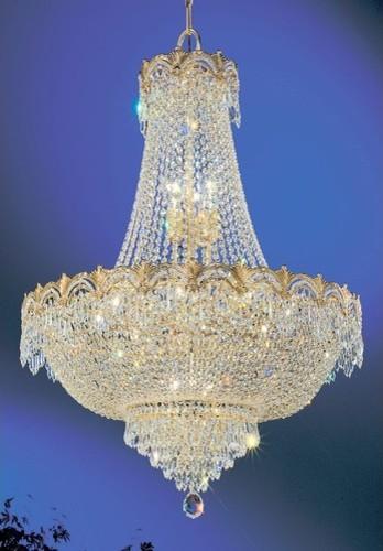 Regency II 9 Light Chandelier modern-chandeliers