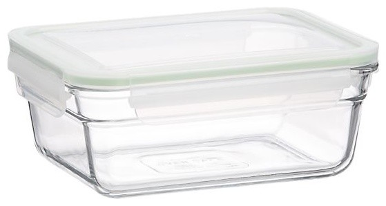 Glasslock Large Rectangular Ovensafe modern food containers and storage