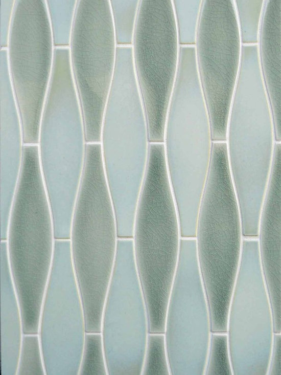 New Releases - PF-EOSM  Small Elongated Ogee in two of our popular glaze styles W7 and C28