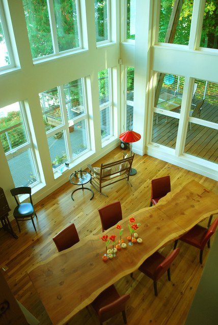 Houzz Tour: Art and Design on Raft Island, Washington contemporary 