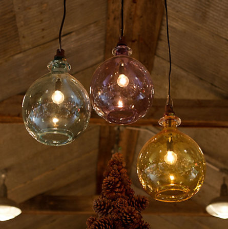 Glass Jug Pendant contemporary pendant lighting