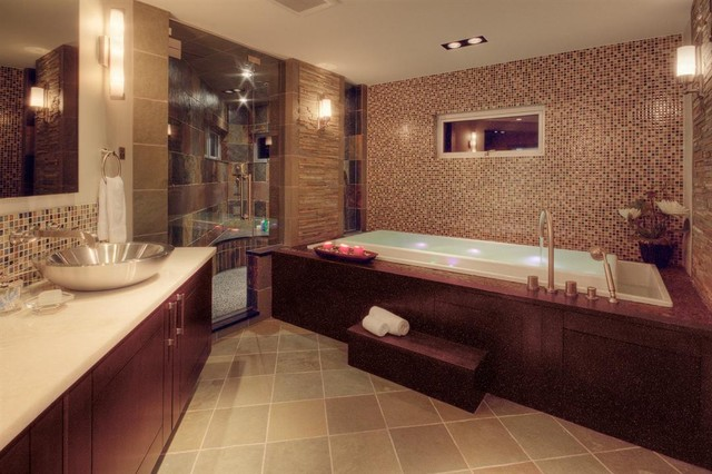 Master Bathroom by Expressive Designs Inc contemporary bathroom