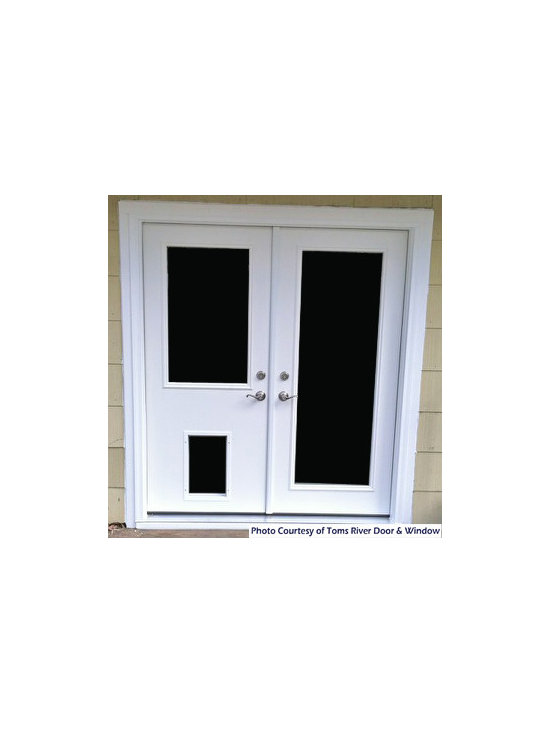 Doors - Check out this beautiful custom made ProVia door.  It has a convenient dog door built in so there will be no more getting up to let the dog in and out.