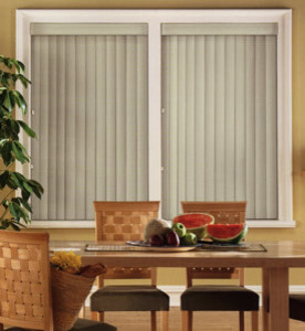 Bali Vinyl Vertical Blinds: Foundations contemporary-vertical-blinds