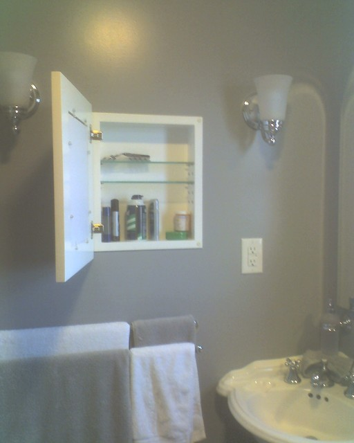 Recessed Picture Frame Medicine Cabinets with No Mirrors ...