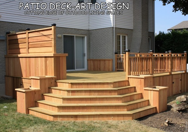 Pictures Of Patio Decks Designs : Patio DeckArt