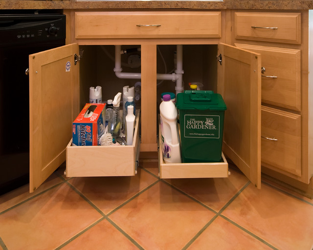 ShelfGenie Pull Out Shelves for Under the Sink - Kitchen ...