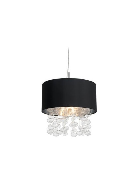 Bubble Cascade Possini Euro Pendant Light -