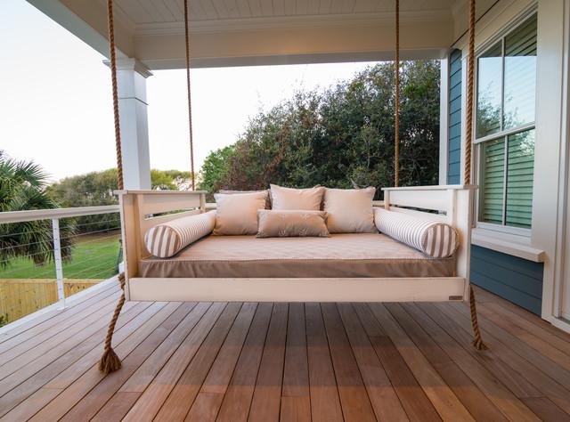 Rustic Look Outdoor Sofa/Bed | Outdoor Living | Pinterest