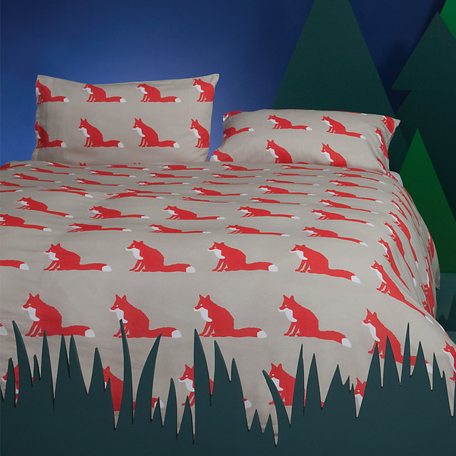Anorak Proud Fox Bedding Modern By John Lewis