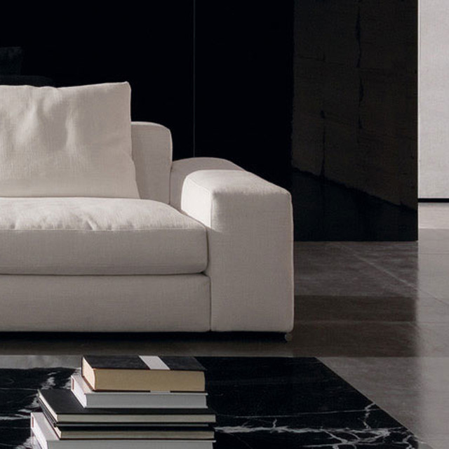 Minotti Jagger High Back And Large Armrest Sectional Sofa Modern Sectional Sofas By Switch