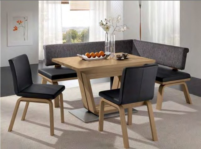 Wave Corner Bench Woessner Modern Dining Benches
