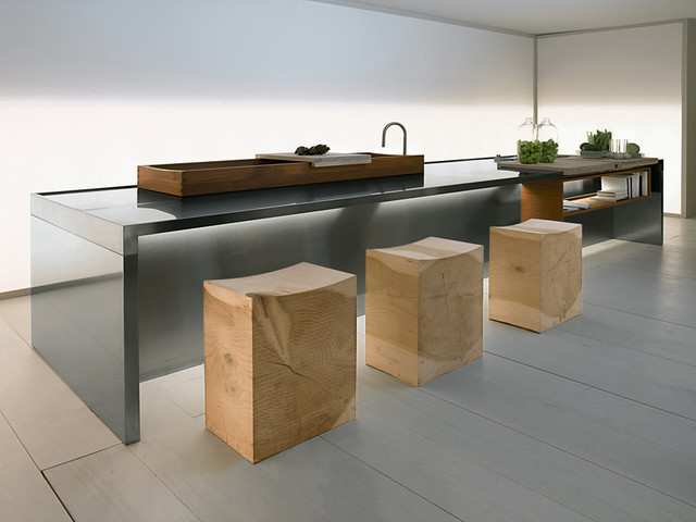modern kitchen by usona