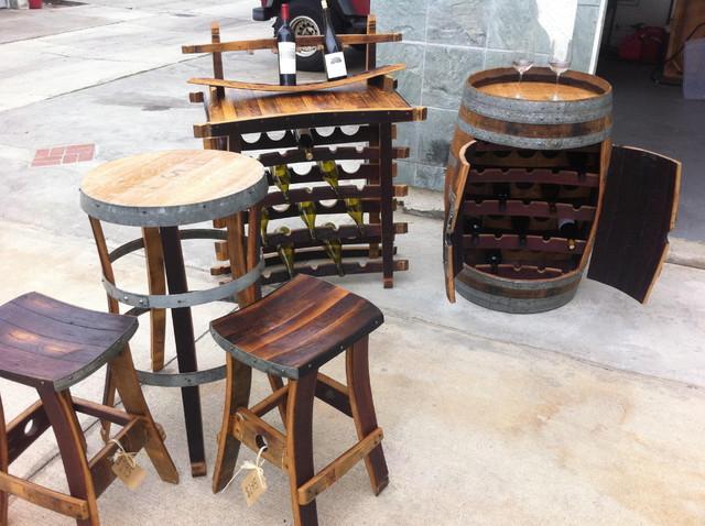 Wine Barrel Bistro Table furniture
