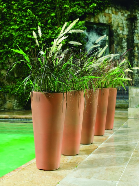 Bleeker Planters modern-outdoor-pots-and-planters