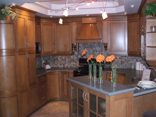 Showroom work kitchen
