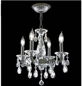 Mini Chandelier No. 95742 by James R. Moder contemporary-chandeliers