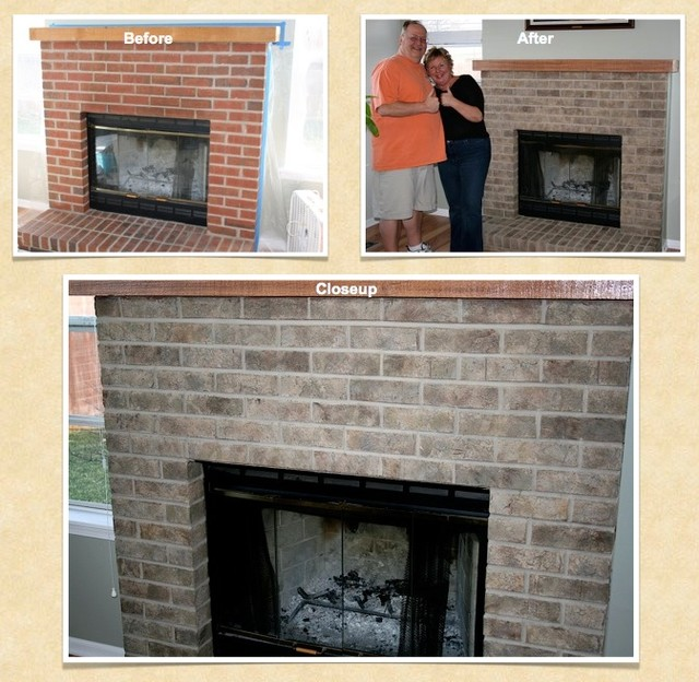 Batavia Brick Paint, Stain, Refinish Project